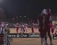 Charlotte Catholic tops Vance 35-34 in thrilling finish