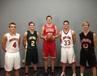 Post-Crescent Media Fab 5 boys basketball players