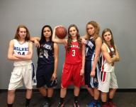 Post-Crescent Media Fab 5 girls basketball players