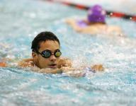 Granville boys swimmers transitioning behind seniors
