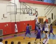 VIDEO: Insane prep dunk comes with Hafid Yasin's chin above the rim