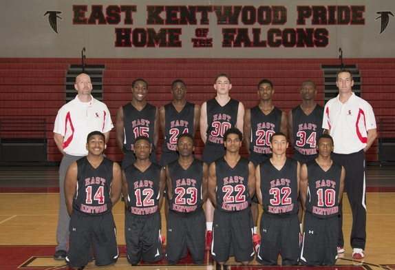East Kentwood's basketball team takes center stage as the Game of the Day on Jan. 13 —EK Basketball via Facebook