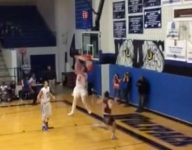 VIDEO: Mickey Mitchell throws down filthy behind-the-head, two-handed jam