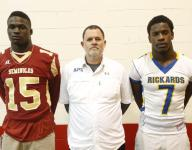 Noles' Harrison, Raiders' Penny lead football honors