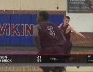 Robinson sweeps North Meck in first hand-picked game