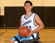 Student-athlete overcomes disability to play college ball