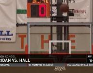 Hall dominates Sheridan 70-34