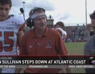 Atlantic Coast football coach Kevin Sullivan steps down