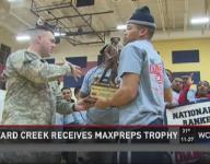 Mallard Creek honored by National Guard, MaxPreps