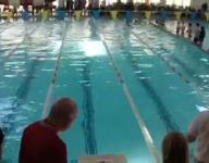 Carmichael wins breaststroke