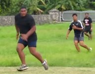 VIDEO: See BYU's massive new Tongan football recruit in action ... sort of