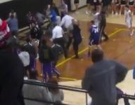 Indiana association denies appeal of schools banned for massive basketball brawl