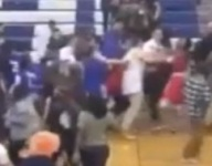 VIDEO: Connecticut court rushing leads to fight between teams