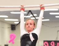 Blue edges Red in Livonia gymnastics showdown
