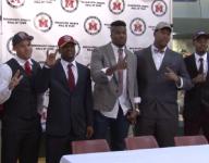 Metro area football stars celebrate signing day