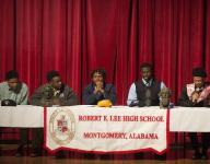Lee Signing Day: King, Smiley, Evans and Carter
