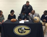 Greer football player surprised by scholarship offer