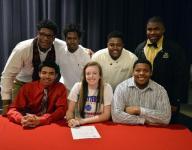 Seven Hillcrest seniors sign athletic scholarships