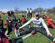 Connor Shaw spends day with youth at camp in Greenville