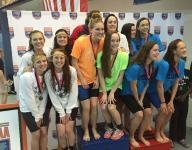 NCHSAA 4-A swimming results