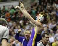 State wrestling: Ailing fan inspires Alburnett