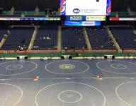 NCHSAA 4-A wrestling results - first day