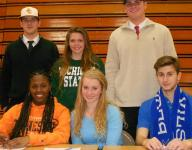 Hawks to continue athletic careers as college students