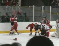 Large brawl breaks out at Eden Prairie-Benilde game