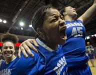 Dobson girls pull together to beat Liberty in Division I semifinals