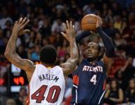 Hawks beat the Heat in Miami