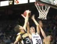 Prairie basketball player Zacc Winn rejects basketballs and adversity