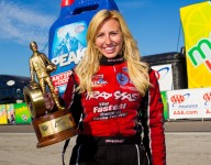 Girls Sports Month: Courtney Force on teamwork, determination and staying active
