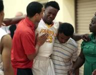 There was no trainer at playoff game when California hoops star Donald Gipson injured his knee