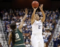 Girls Sports Month: UConn's Kaleena Mosqueda-Lewis gives her job as a role model a serious shot