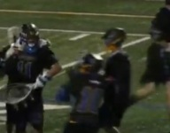 VIDEO: Colorado lacrosse goalie scores miraculous goal from 77 yards away