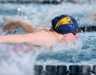 Bishop Ahr's Kuhn, Colonia's Burzynska shine at girls swimming MOC