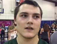 Blake Minten on placing third