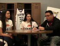 Xavier girls' basketball featured on Varsity Roundtable