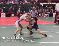 Local wrestlers open state with impressive wins