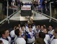 Catholic Central outlasts Grandville for Div. 1 hockey title
