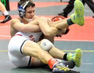 Johnson, Gordy advance to Day 2 of state wrestling meet