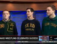 St. Edward Wrestling celebrates success