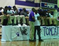 Haywood celebrates boys' basketball state title