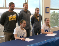 SkyView Academy celebrates first athletic scholarships