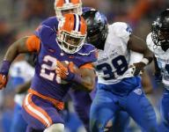 Clemson's Tyshon Dye puts more spring in his step