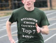 Sycamore runners chasing the Comets