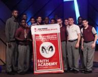Faith Academy in Alabama celebrates its title as Best Boys Basketball Program