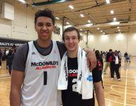 Future Duke teammates Luke Kennard and Chase Jeter forming strong bond