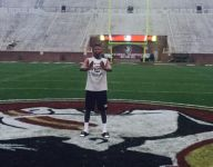 Miami legacy throws up U while standing on FSU logo, and Jalen Ramsey approves