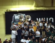 The Wheeler band and cheerleaders came to DICK'S Nationals on their own dime